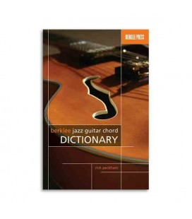 Livro Berklee Jazz Guitar Chord Dictionary HL50449546