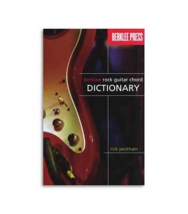 Livro Music Sales HL50449596 Berklee Rock Guitar Chord Dictionary