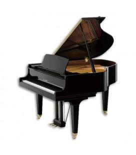 Piano de Cauda Kawai GL30 166cm Preto Polido 3 Pedais
