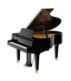 Piano de Cauda Kawai GL40 180cm Preto Polido 3 Pedais