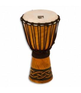 Djembe Toca Percussion TODJ 8CK Origin Series em Madeira Afinação por Cordas