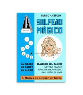 Livro Eurico Cebolo SOL M M辿todo Solfejo M叩gico com CD