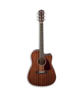 Guitarra Eletroac炭stica Fender Dreadnought CD 140SCE All Mahogany com Estojo