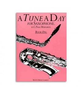 Livro Music Sales BM10223 Tune a Day Saxophone Book 1
