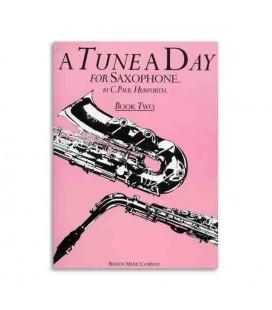 Livro Music Sales BM10231 Tune a Day Saxophone Book 2