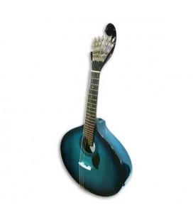 Guitarra Portuguesa Artimúsica 70070 Simples Lisboa Blueburst