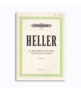 Livro Editions Peters EP3561A Heller Melodia Estudo OP 45