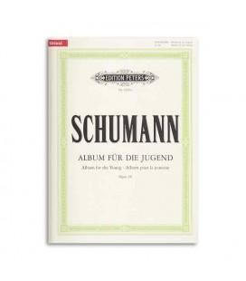 Livro Editions Peters EP9500A Schumann Álbum da Juventude OP 68