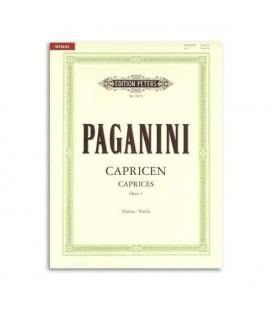 Paganini 24 Caprichos para Violino OP1 Peters