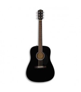 Guitarra Folk Fender Dreadnought CD 60S Black