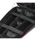 Foto do interior do saco para clarinete Gig Bag Ortolá 606 187