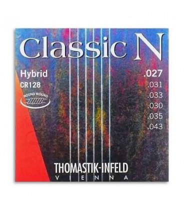 Jogo de Cordas Thomastik Classic N Hybrid CR128 para Guitarra Clássica