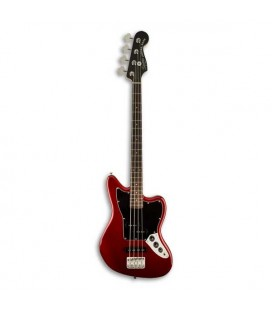 Guitarra Baixo Fender Squier Vintage Modified Jaguar Bass Special SS Short Scale RW Candy Apple Red