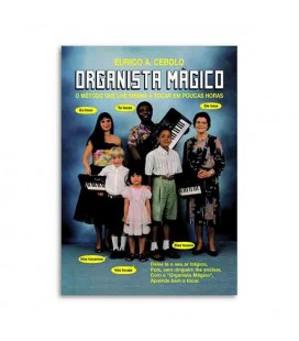 Livro Eurico Cebolo OM Método Organista Mágico