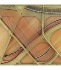 Piano Vertical Kawai K 200 114cm Preto Polido 3 Pedais