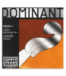 Corda Thomastik Dominant 129 1ra Mi para Violino 1/2