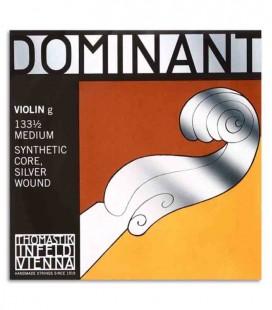 Corda Thomastik Dominant 133 4ta Sol para Violino 1/2