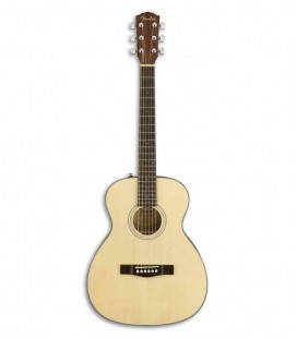 Guitarra Acústica Fender Travel Spruce Maciço e Mogno Natural