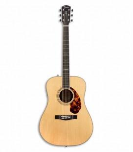 Guitarra Eletroacústica Fender PM 1E Paramount Limited Dreadnought Natural com Estojo