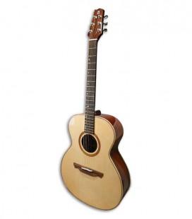Guitarra Eletroacústica Alhambra A 1 A B Auditório E3 Equalizador Abeto e Sapelli