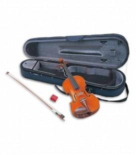 Violino Yamaha V5 SA Estudo 4/4 Tampo em Abeto com Estojo