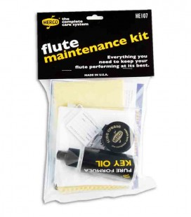 Kit de Manutenção Dunlop HE 107 para Flauta Transversal