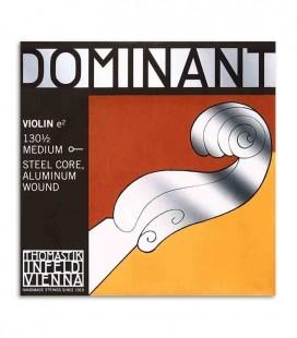 Corda Individual Thomastik Dominant 130 Mi para Violino