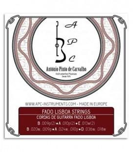 Jogo de Cordas APC CORGFLS para Guitarra Portuguesa