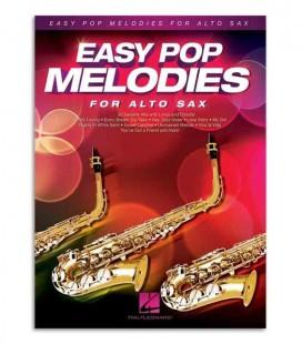 Livro Music Sales HL00125786 Easy Pop Melodies Sax Alto