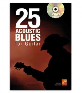 Livro 25 Acoustic Blues for Guitar ME0277