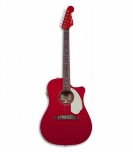 Guitarra Eletroacústica Fender Sonoran SCE Candy Apple Red