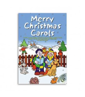 Livro Music Sales CH65406 Merry Christmas Carols Book CD