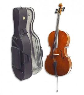 Violoncelo Stentor Conservatoire 4/4 com Arco e Estojo