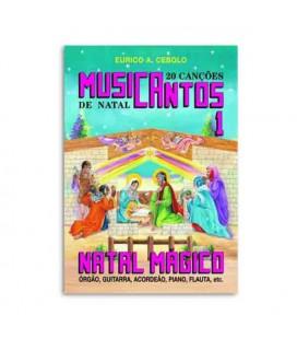 Livro Eurico Cebolo MUS1 Método Musicantos Natal 1 com CD