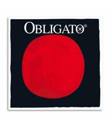 Jogo de Cordas Pirastro Obligato 411026 para Violino 4/4 com Asa