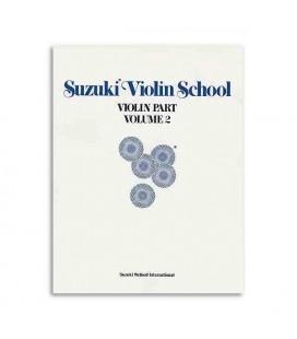 Livro Suzuki Violin School Volume 2 com CD ALF28263