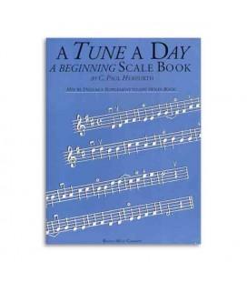 Livro Music Sales BM10405 Tune A Day Violin Beginning Scale Book