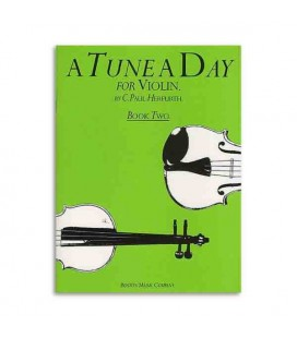 Livro Music Sales BM10298 Tune A Day Violin Book 2