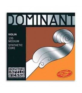 Embalagem do jogo de cordas para violino Thomastik Dominant 135
