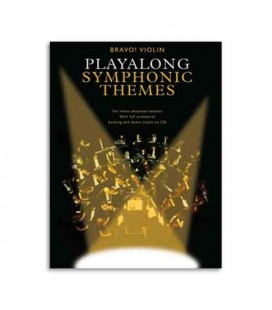 Livro Music Sales AM990649 Bravo Symphonic Themes Violin Book CD