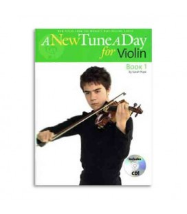 Livro Music Sales BM11396 A New Tune a Day for Violin Book 1 CD