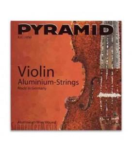 Jogo de Cordas Pyramid 100100 para Violino Alumínio 4/4