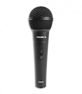 Microfone Proel DM80 Dynamic Microphone  com Interruptor e Cabo