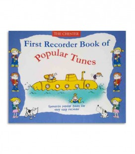 Livro Music Sales First Recorder Book of Popular Tunes CH61593