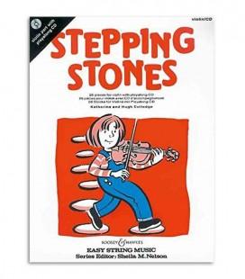 Livro Stepping Stones 26 Peças Violino com CD