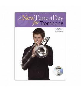 Livro Music Sales Tune A Day Trombone Book 1 Clave Fá