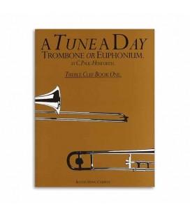 Livro Music Sales Tune A Day Trombone Book 1 Clave Sol