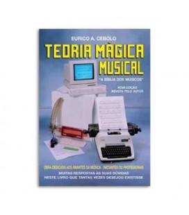 Capa do livro Teoria Mágica Musical de Eurico Cebolo