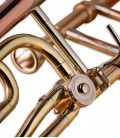 Tubagem do trombone de varas Tenor John Packer JP133LR