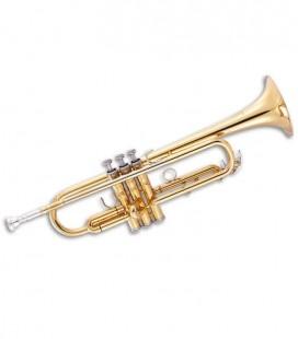 Trompete John Packer JP251SWLT Si Bemol Dourado com Estojo